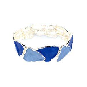 Armband Dreiecke blau