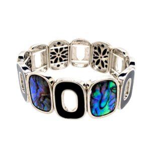 Armband Opal schwarz